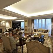高贵欧式风格客厅