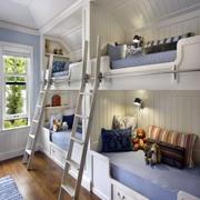 阁楼儿童房上下床