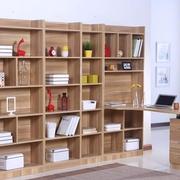 靓丽简洁的书柜