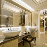 卫生间洗手台展示