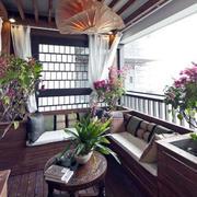 阳台沙发布置设计