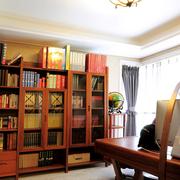新中式风书房书柜
