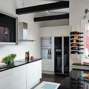厨房白色橱柜门板