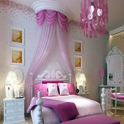婚房卧室床幔欣赏