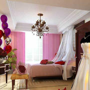 婚房卧室简约装潢