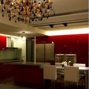 雍容华贵的客厅水晶灯