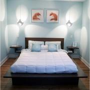 简约现代卧室床