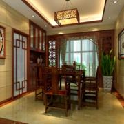 餐厅红木桌椅