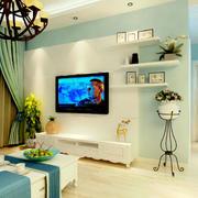 客厅墙上置物柜