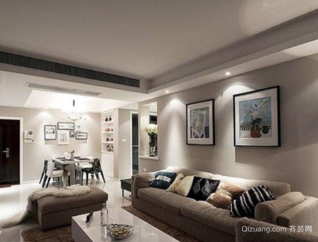 现代时尚都市风格客厅装修效果图