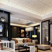精致时尚的客厅石膏线