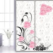 卫生间讨人喜爱的玻璃门