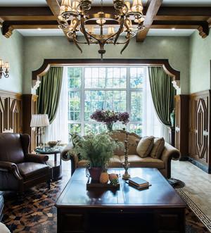 幸福时代 美式风格客厅设计装修效果图鉴赏