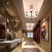 奢华酒店卫生间