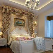 别墅清新卧室