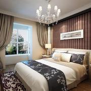 卧室舒适大床图片