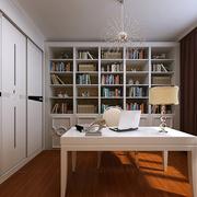 书房白色书桌