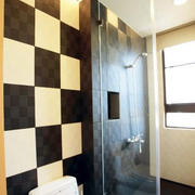 浴室瓷砖背景