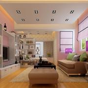 温婉优雅的公寓客厅