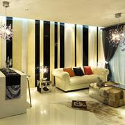 客厅大方精致装饰