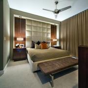 卧室中性冷色调地板砖