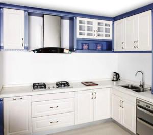 厨房白色橱柜门板图片