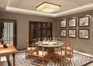 中式餐厅装潢设计