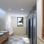 卫生间白色简约吊顶