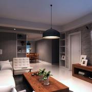 公寓精致客厅