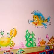可爱壁画设计图