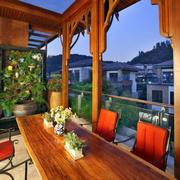 阳台餐桌椅欣赏