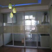 经济型厨房玻璃门