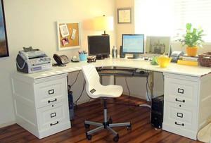 2015新款都市办公室文件柜装修效果图