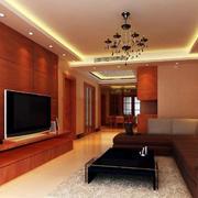 中式客厅实木电视柜