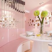 粉色浪漫餐厅图片