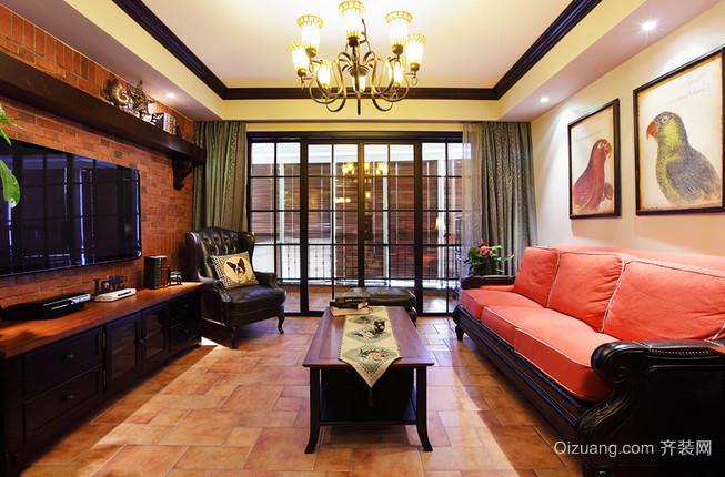 时尚与古典融合的新古典风格客厅设计装修效果图鉴赏