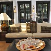 美式客厅窗帘