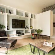 家居小客厅茶几地毯
