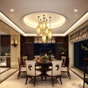 新中式风格高贵餐厅