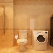 卫生间暖色调瓷砖
