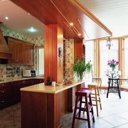 现代美式厨房装潢
