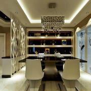 餐厅实用家居酒柜