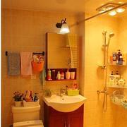 卫生间温馨现代装饰