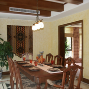 优雅现代家居餐厅