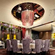 餐厅奢华吊顶灯饰