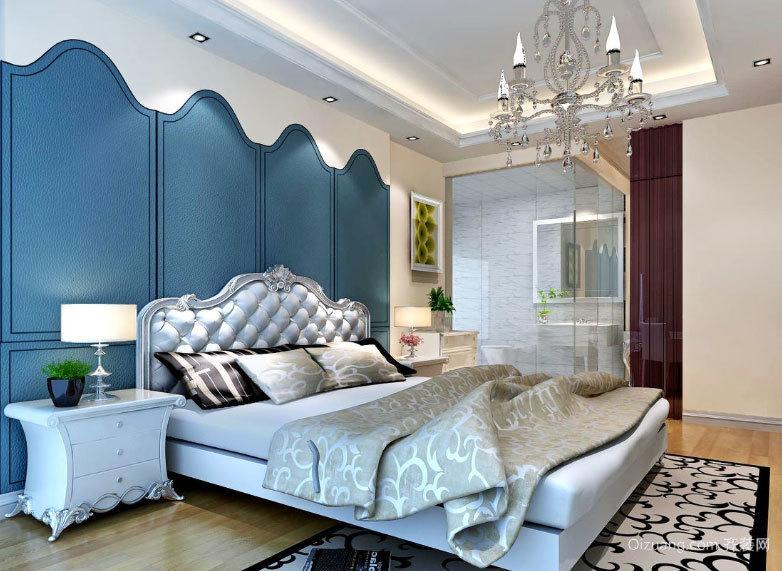唯美梦幻般的地中海风格卧室装修效果图