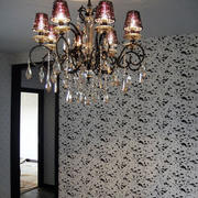 浪漫的客厅水晶灯