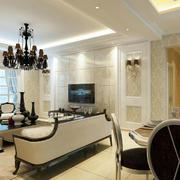 客厅高大上的背景墙