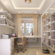 书房壁挂式书架