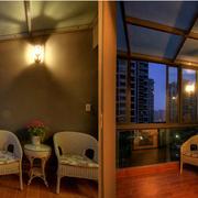 阳台玻璃幕墙